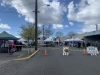 Roads closed for the reopening of farmers market since COVID hit on April 10th. The Market moved back to Pioneer Park Pavilion around Mother's Day. It runs every Saturday from 9 a.m. to 2 p.m.