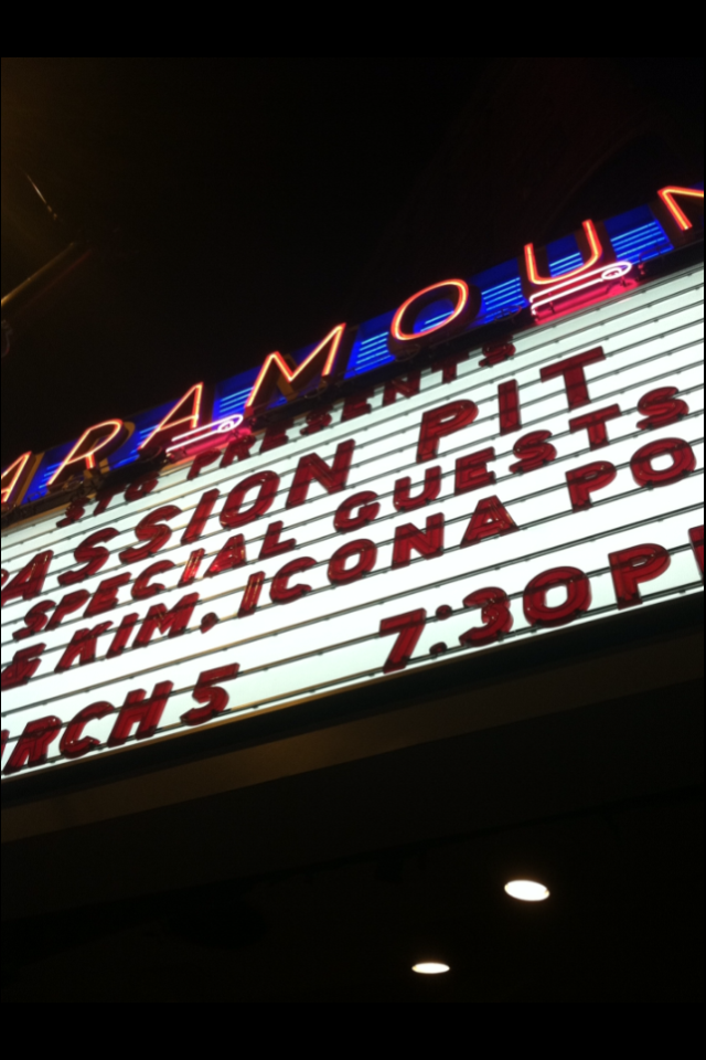 Passion Pit perform at the Paramount