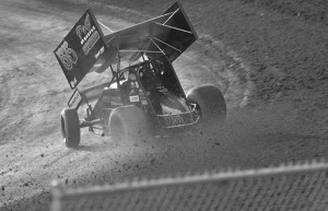 Senior Trey Starks has been racing on dirt tracks for most of his life.