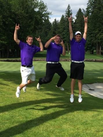 Golf team victory