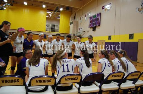 The PHS Varsity Volleyball lost against Graham Kapowisn high school Sept. 23.