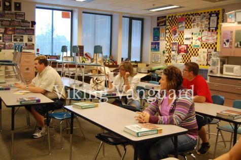 Puyallup High School had its annual back to school night Sept. 16. An event that allows parents to meet their student(s) current teachers.