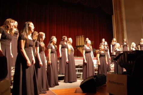 The PHS Valkyries, Norselanders and Concer Choir all performed at the concert Oct. 15