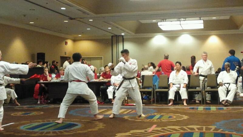 PHS senior, Reily Mendenhall, battles his opponent in ISKF National Championships. He eventually pulled out the first place win and champion title.