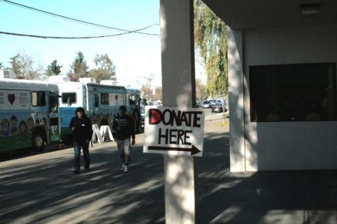 Students donate blood Nov. 12