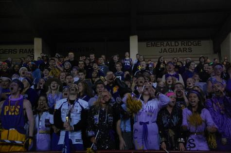 The Puyallup football team wins against Rogers High School 35-0 Oct. 31. This was also Puyallup's homecoming game.