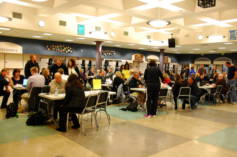 Parent teacher conference night was held March 4 from 4:30 p.m. to 8:00 p.m. in the commons and library.