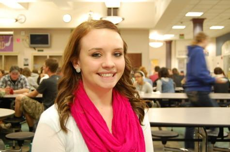 """""""My smile because I have people remember me from when I was really little because they recognize my smile,"""" junior Hannah Eilers said."""