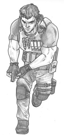 Resident Evil greyscaled final 2