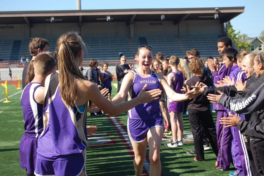 %22Track+season+is+coming+to+an+end+and+I+am+going+to+miss+all+of+the+underclassmen%2C%22+senior+Brianna+Richards+said+after+ecstatically+meeting+each+teammate+through+the+line.+++PHS+Track+and+Field+took+first+against+Emerald+Ridge+and+Rogers+May+7.+