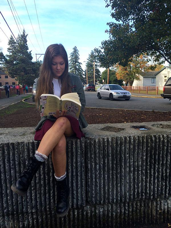 Sophomore Haley Keizur