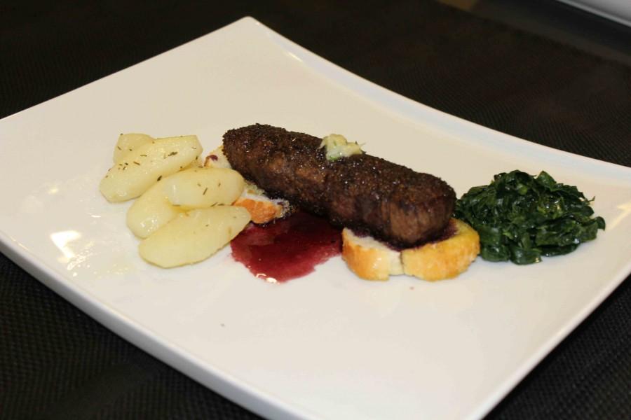 Steak Plating