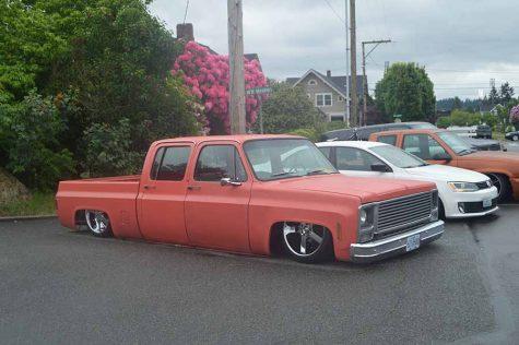 Orange car fixed