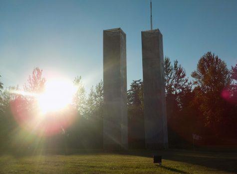 Twin Tower Replicas in Edgewood