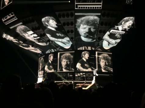 Ed Sheeran Captures Audience