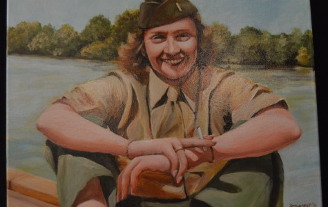 Artist Chris Demarest restores human connection in war-themed portraits